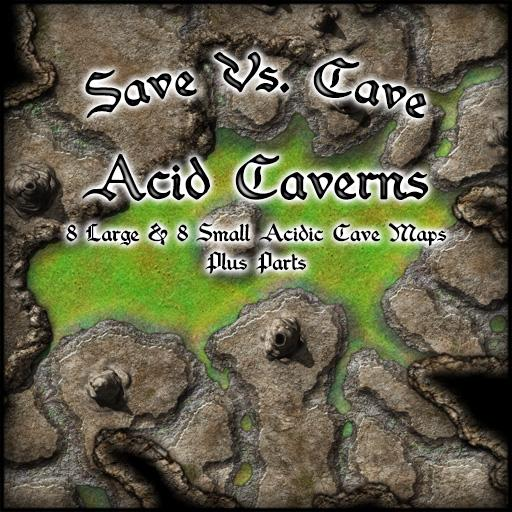 Save Vs. Cave Acid Caverns