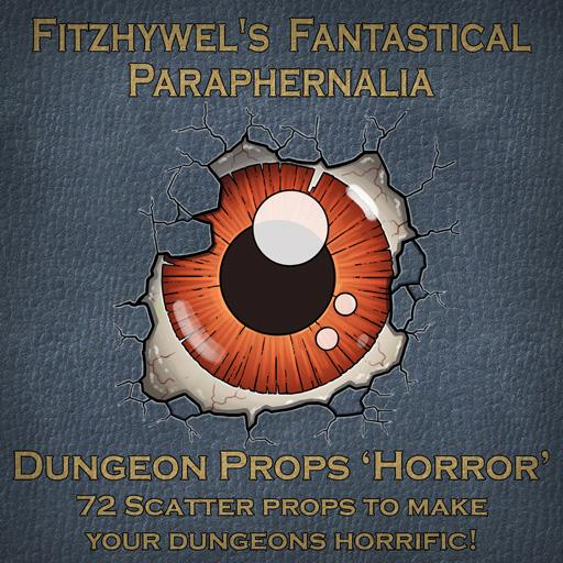 Fitzhywel's Fantastical Paraphernalia: Dungeon Props 'Horror'