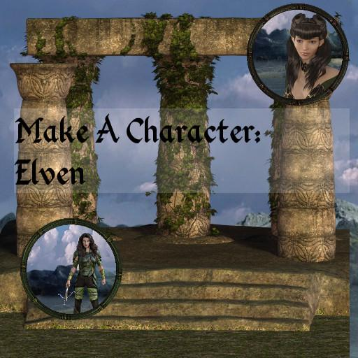 Make a Character: Elves