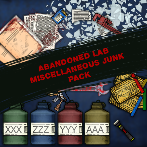 Abandoned Lab Miscellaneous Junk Pack