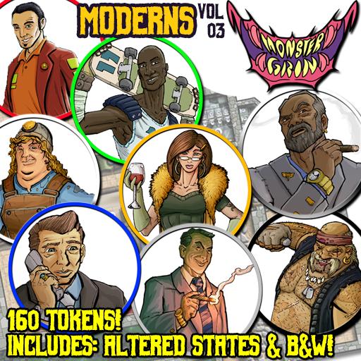 Moderns, Vol. 3