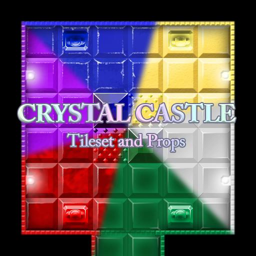 Crystal Castle Tileset and Props