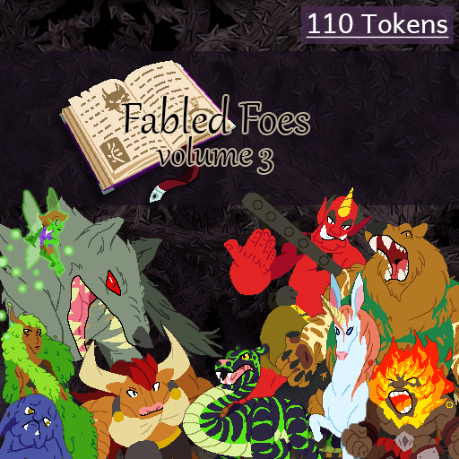 Fabled Foes Volume 3