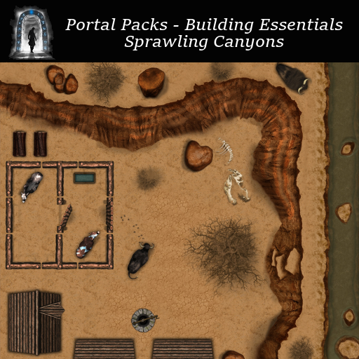 Portal Packs - Building Essentials - Sprawling Canyons