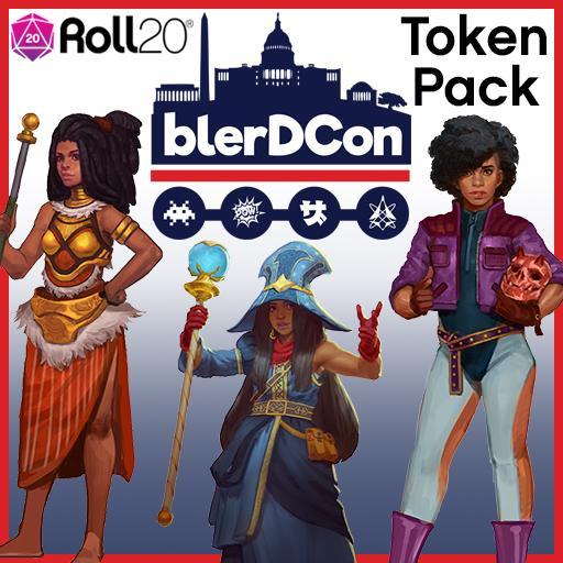 Blerdcon Token Pack