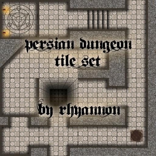 Persian Dungeon Tile Set