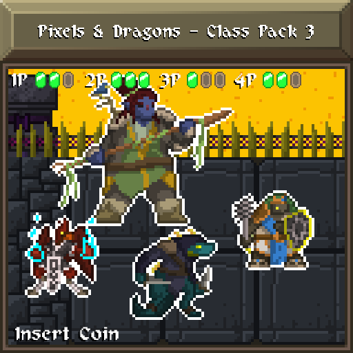 Pixels and Dragons - Class Pack 3