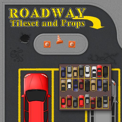 Roadway Tileset and Props