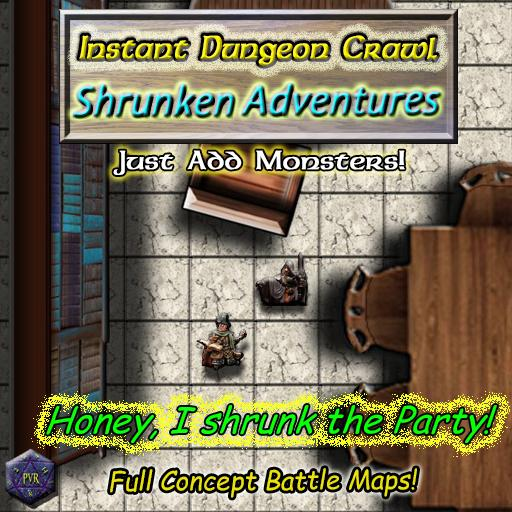 Instant Dungeon Crawl: Shrunken Adventures