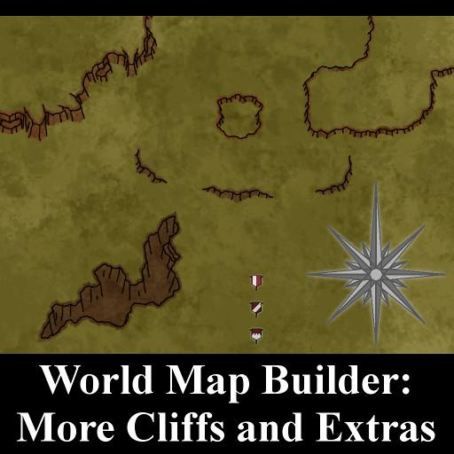 World Map Builder: More Cliffs and Extras