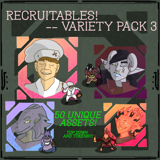 Recruitables - Variety Pack 3