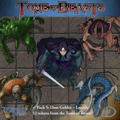 Tome of Beasts Pack 5