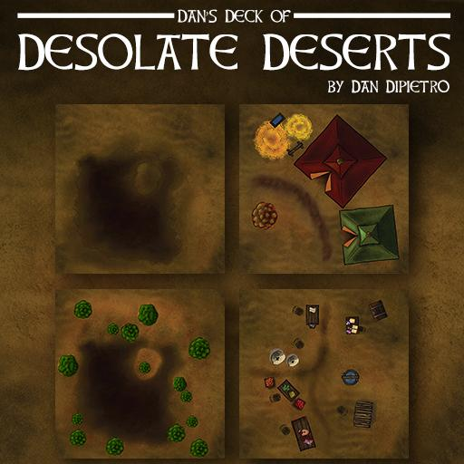 Dan's Deck of Desolate Deserts