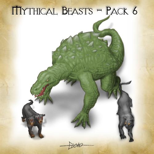 Mythical Beasts - Pack 6