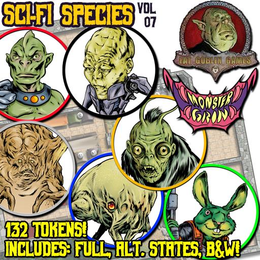 Sci-fi Species, Vol. 7