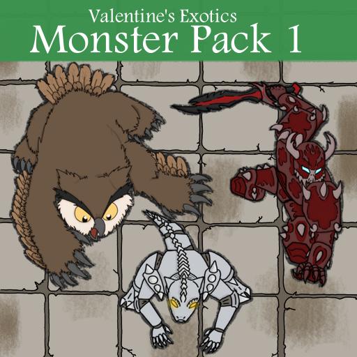 Exotic Monster Pack 1