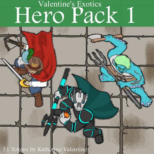 Exotic Hero Pack 1