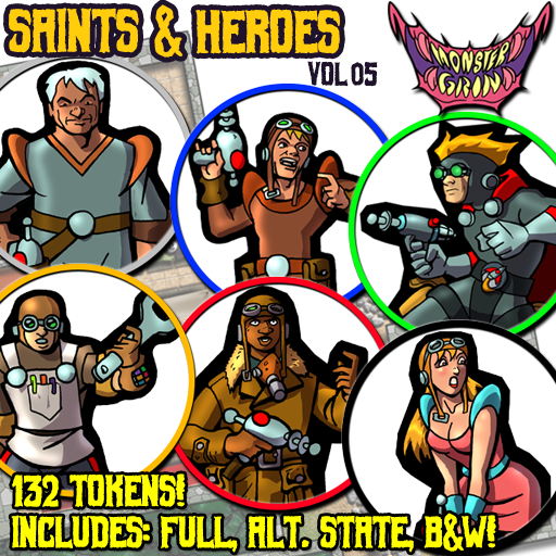 Saints & Heroes, Vol. 5
