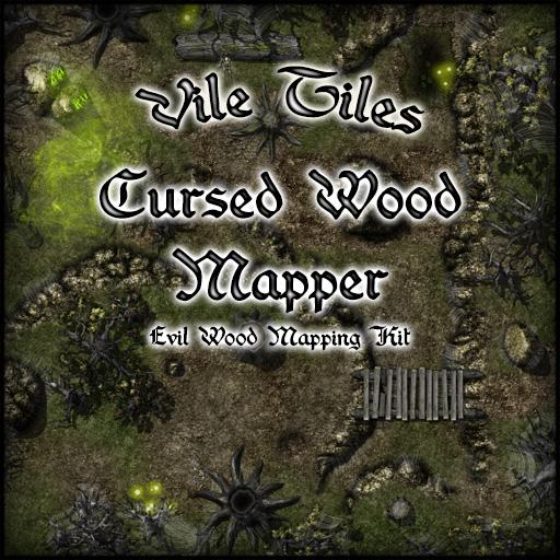 Vile Tiles Cursed Wood Mapper