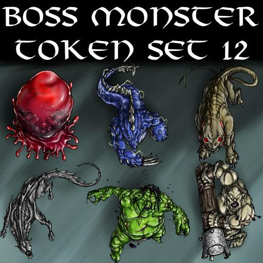 Boss Monster Token Set 12