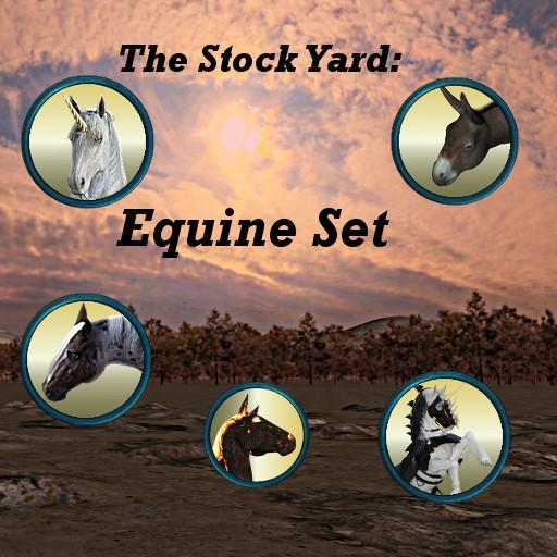 The Stockyard: Equine Set