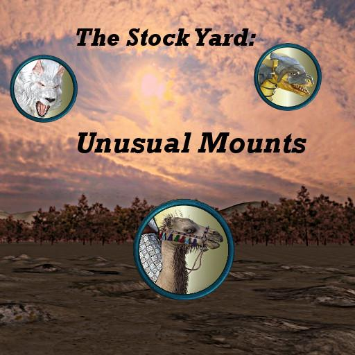 The Stockyard: Unusual Mounts