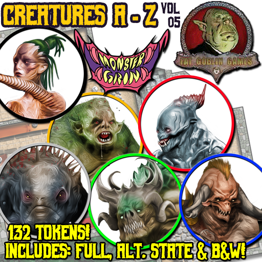 Creatures A-Z, Vol. 5