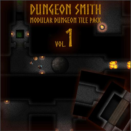 Dungeon Smith, Modular Dungeon Tile Pack vol.1