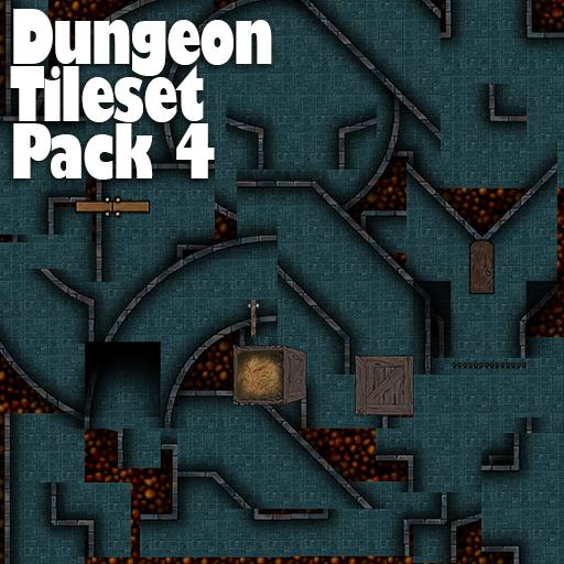 Dungeon Tile Set Pack 4