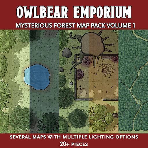 Mysterious Forest Map Pack Volume 1