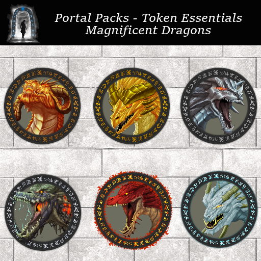 Portal Packs - Token Essentials - Magnificent Dragons