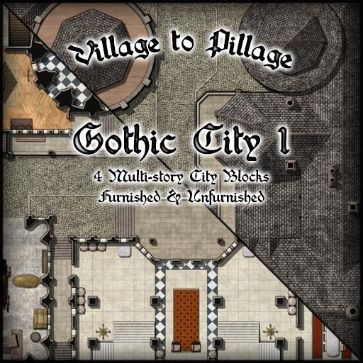 Village to Pillage Gothic City 1