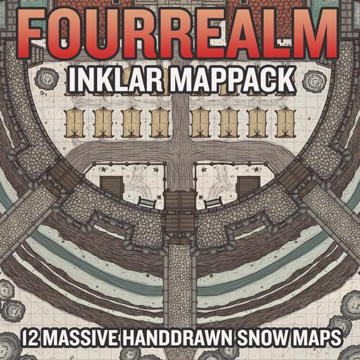 Inklar Map Pack
