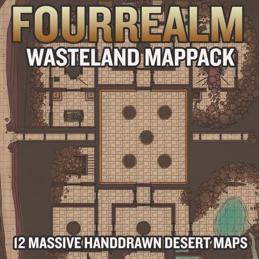 Wasteland Map Pack