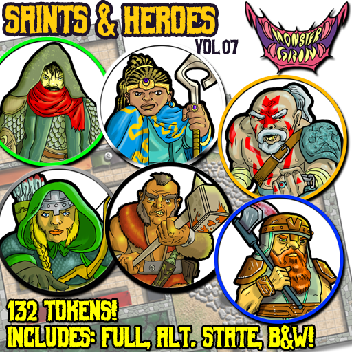 Saints & Heroes, Vol. 7