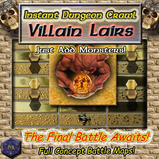 Instant Dungeon Crawl: Villain Lairs