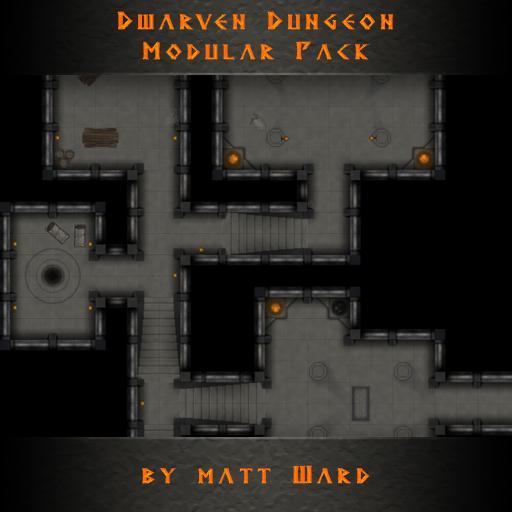 Dwarven Dungeon Modular Pack