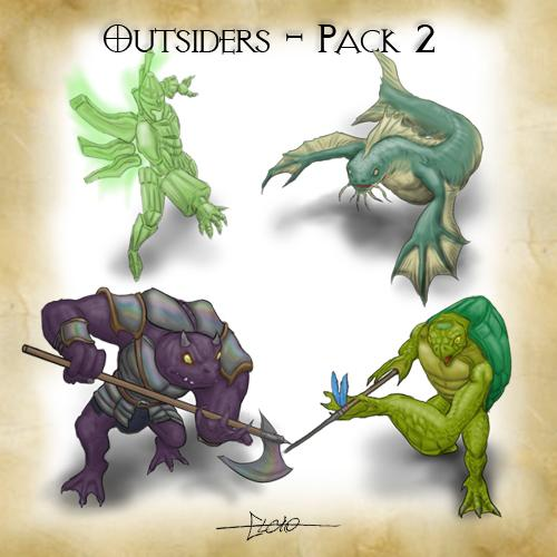 Outsiders Pack 2