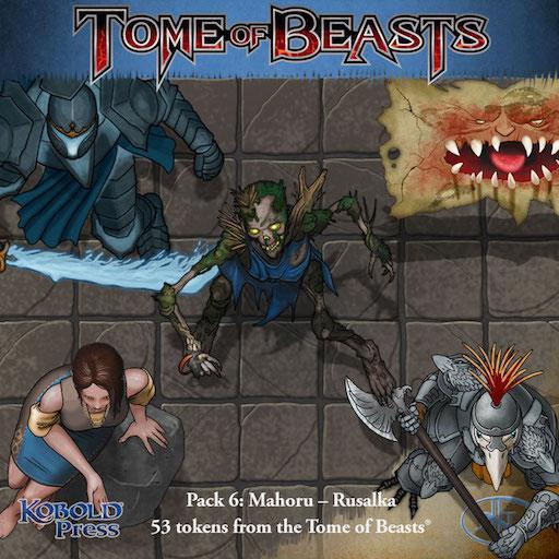 Tome of Beasts 6: Mahoru - Rusalka