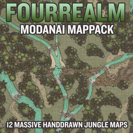 Modanai Map Pack