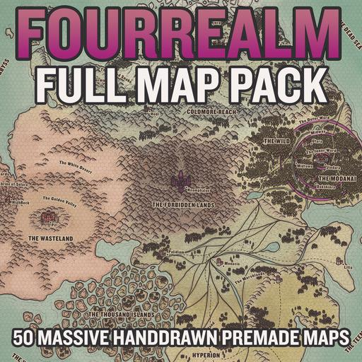 FouRealm Mappack Bundle