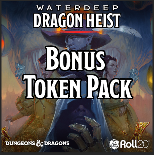 Waterdeep: Dragon Heist (Bonus Token Pack)