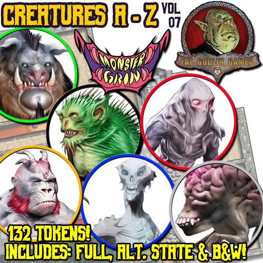 Creatures A-Z, Vol. 7
