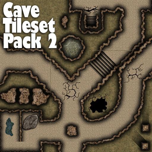 Cave Tile Set Pack 2