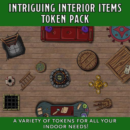 Intriguing Interior Item Token Pack