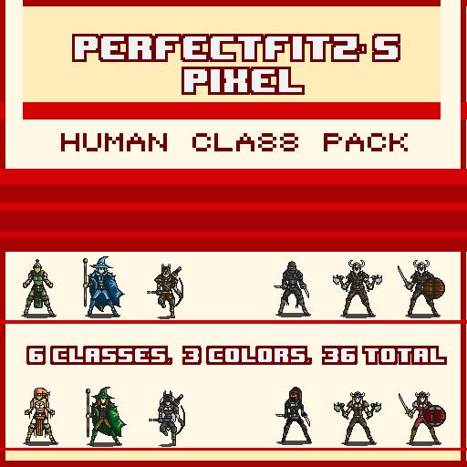 Pixel Human Class Pack Vol 1