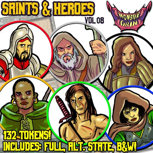 Saints & Heroes, Vol. 8