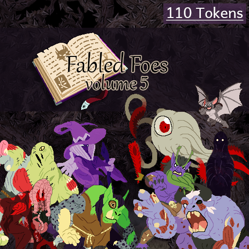 Fabled Foes Volume 5