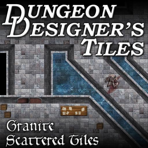 Dungeon Designers Tiles - Granite Scattered Tiles