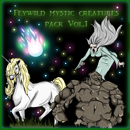 Feywild Mystic Creatures Pack Vol. 1